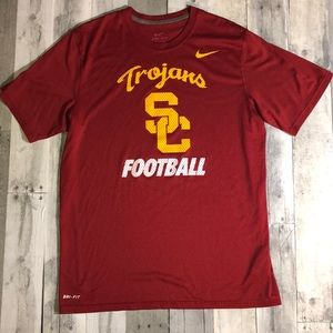 Nike USC Trojans Football Dri-Fit T-Shirt